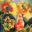 In The Sun Patch Original 8 x8 SOLD