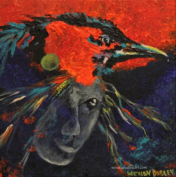 Raven Magic 8 x 8 inches $125