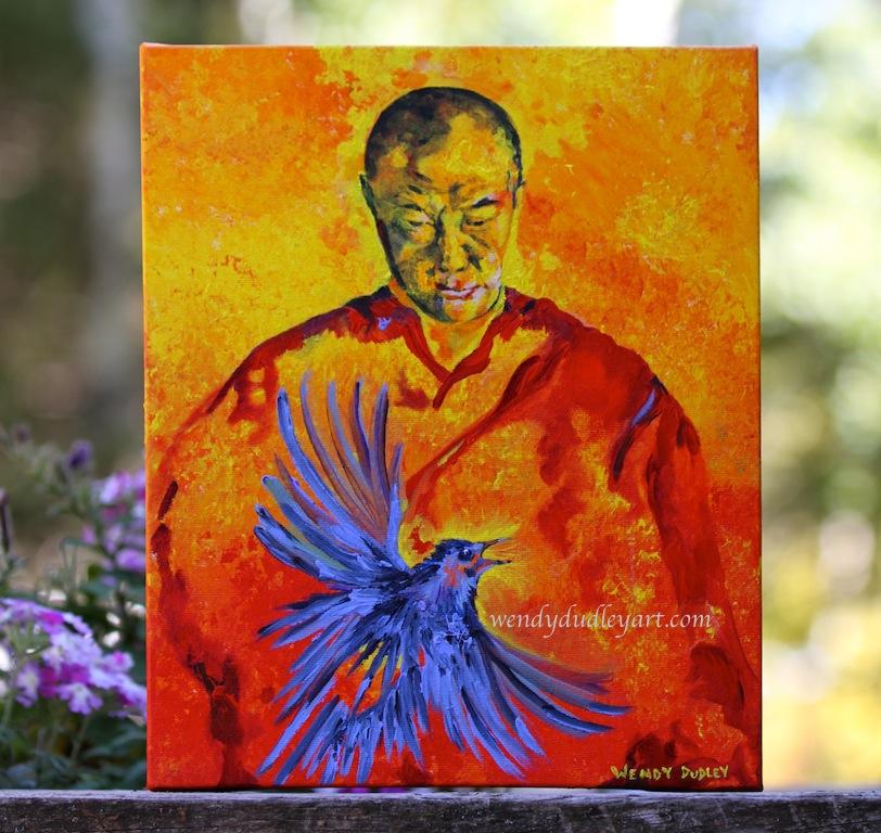 Sacred Messengers 10 x 12 $375
