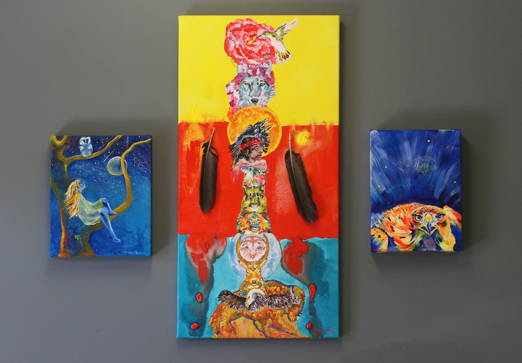 Wendy Dudley Art at The Makers Muse Studio, Black Diamond, Alberta
