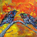 Birds of A Feather, Wendy Dudley Art