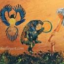 Cosmic Dance Original 32 x 16 $900