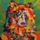Medicine Bear Original 10 x 12 $250