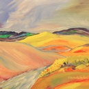 Oldman River, Porcupine Hills Original Acrylic 11 x 14 $375