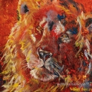 The Silent Roar 10 x 12 inches SOLD