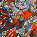 The Fledgling 24x12ins SOLD